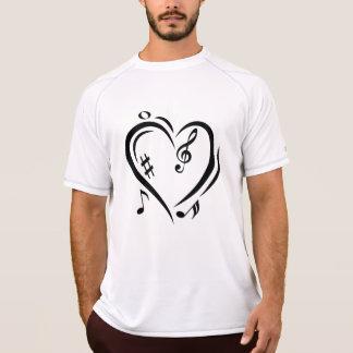 Illustration Clef Love Music T-Shirt