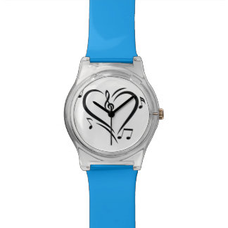 Illustration Clef Love Music Watch