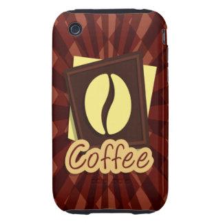 Illustration coffee bean tough iPhone 3 case
