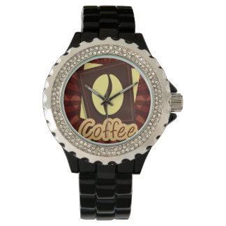Illustration coffee bean watches