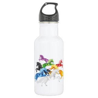 Illustration colorful wild Unic 532 Ml Water Bottle