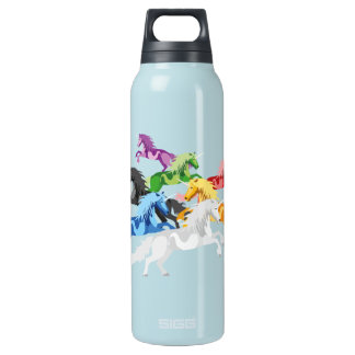 Illustration colorful wild Unic Insulated Water Bottle