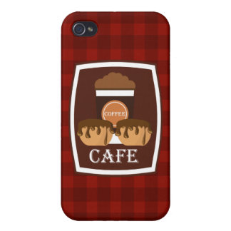 Illustration delicious cup of coffee cases for iPhone 4