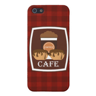 Illustration delicious cup of coffee iPhone 5/5S cover