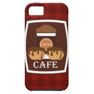 Illustration delicious cup of coffee iPhone 5 covers