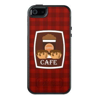 Illustration delicious cup of coffee OtterBox iPhone 5/5s/SE case