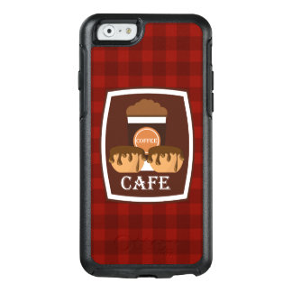 Illustration delicious cup of coffee OtterBox iPhone 6/6s case