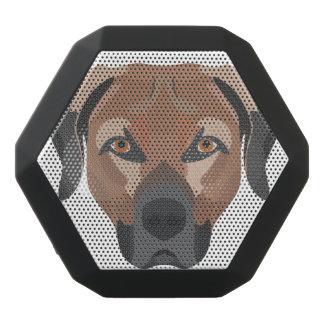 Illustration Dog Brown Labrador Black Bluetooth Speaker