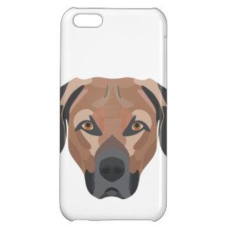 Illustration Dog Brown Labrador Cover For iPhone 5C