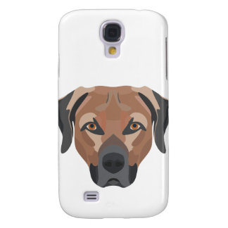 Illustration Dog Brown Labrador Galaxy S4 Case