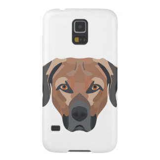 Illustration Dog Brown Labrador Galaxy S5 Cases