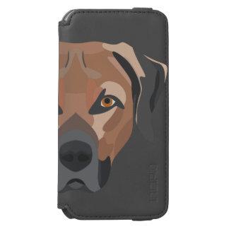 Illustration Dog Brown Labrador Incipio Watson™ iPhone 6 Wallet Case