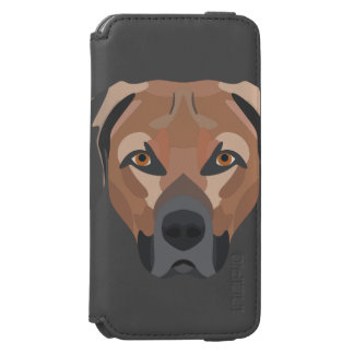 Illustration Dog Brown Labrador Incipio Watson™ iPhone 6 Wallet Case