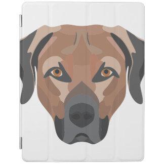 Illustration Dog Brown Labrador iPad Cover
