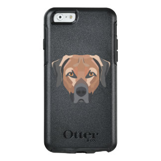 Illustration Dog Brown Labrador OtterBox iPhone 6/6s Case
