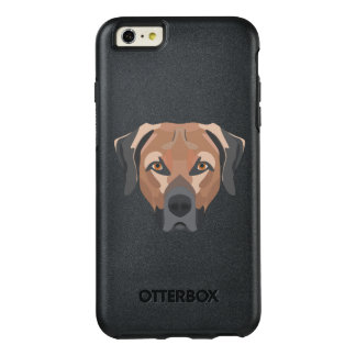 Illustration Dog Brown Labrador OtterBox iPhone 6/6s Plus Case
