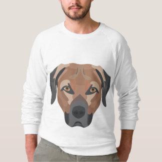 Illustration Dog Brown Labrador Sweatshirt