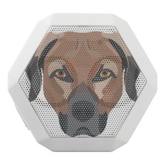 Illustration Dog Brown Labrador White Bluetooth Speaker