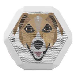 Illustration Dog Smiling Terrier White Bluetooth Speaker