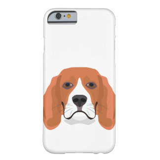 Illustration dogs face Beagle Barely There iPhone 6 Case