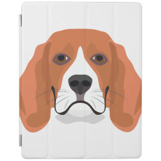 Illustration dogs face Beagle iPad Cover