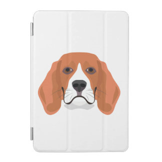 Illustration dogs face Beagle iPad Mini Cover