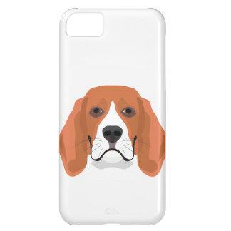 Illustration dogs face Beagle iPhone 5C Case