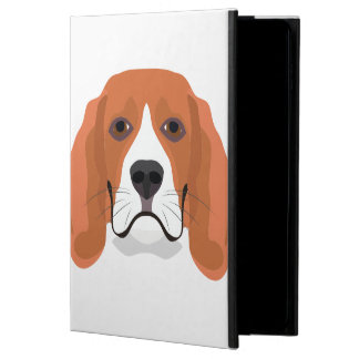 Illustration dogs face Beagle Powis iPad Air 2 Case