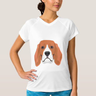 Illustration dogs face Beagle T-Shirt