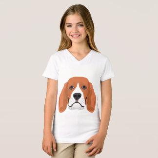 Illustration dogs face Beagle T-Shirt