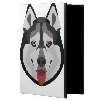 Illustration dogs face Siberian Husky Powis iPad Air 2 Case