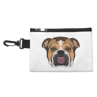 Illustration English Bulldog Accessory Bag