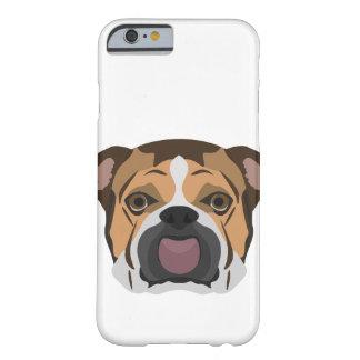 Illustration English Bulldog Barely There iPhone 6 Case