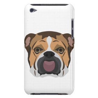 Illustration English Bulldog Barely There iPod Cover