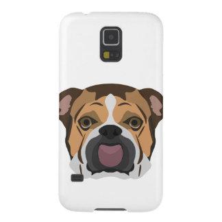 Illustration English Bulldog Cases For Galaxy S5