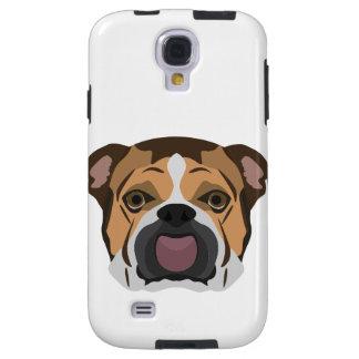 Illustration English Bulldog Galaxy S4 Case