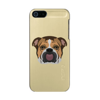 Illustration English Bulldog Incipio Feather® Shine iPhone 5 Case