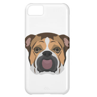 Illustration English Bulldog iPhone 5C Case