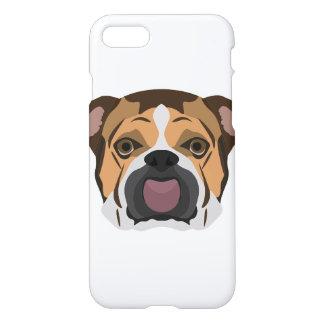 Illustration English Bulldog iPhone 8/7 Case
