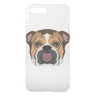 Illustration English Bulldog iPhone 8 Plus/7 Plus Case