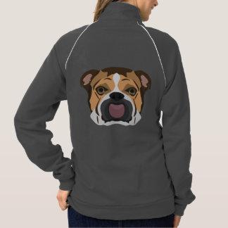 Illustration English Bulldog Jacket