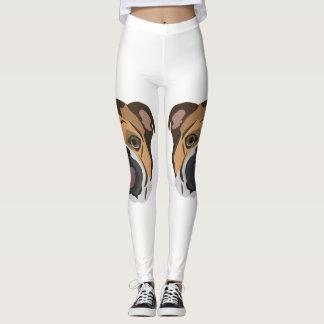 Illustration English Bulldog Leggings