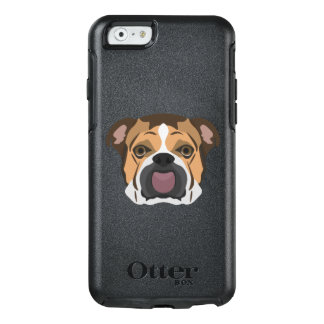 Illustration English Bulldog OtterBox iPhone 6/6s Case