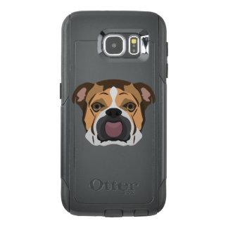 Illustration English Bulldog OtterBox Samsung Galaxy S6 Case
