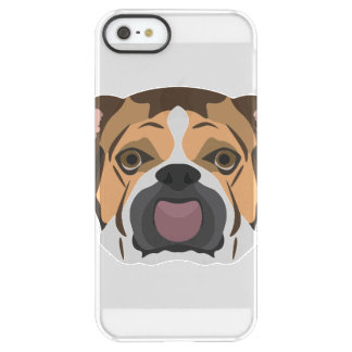 Illustration English Bulldog Permafrost® iPhone SE/5/5s Case
