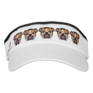 Illustration English Bulldog Visor