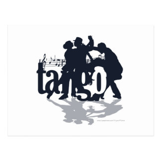 Illustration Friday: Tango Postcard