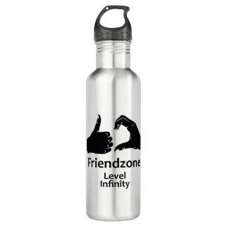 Illustration Friendzone Level Infinity 710 Ml Water Bottle