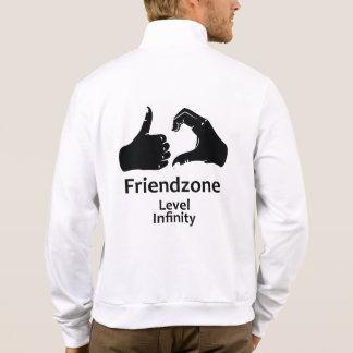 Illustration Friendzone Level Infinity Jacket
