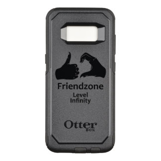 Illustration Friendzone Level Infinity OtterBox Commuter Samsung Galaxy S8 Case
